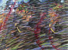 Umberto Boccioni - States of Mind II: Those Who Go (1911 before Paris) | MoMa (New York) Futurisme