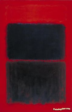 Light Red Over Black, 1957 Artwork by Mark Rothko Hand-painted and Art Prints on canvas for sale,you can custom the size and frame