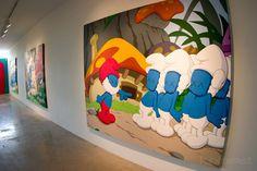 Smurfs by Kaws