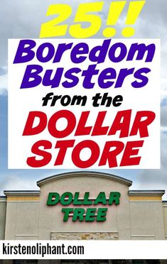 "The post ""Try these 25 easy and affordable boredom busters from the dollar store! Don& sweat over expensive kids& activities with a lot of set-up. Simple, cheap, (mostly) reusable."" appeared first on Pink Unicorn"