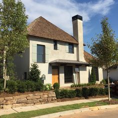 Hedgewood home in Vickery Building Design, Building Ideas, House In The Woods, Hedges, Pergola, Custom Design, Exterior, Outdoor Structures, Mansions