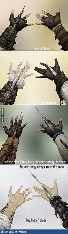 Assassins through the ages...