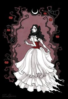 Snow White by IrenHorrors on DeviantArt