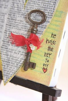 Valentine ~ He holds the key to my heart❤