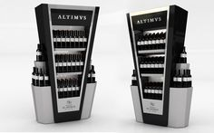 <strong>Esteco - Altimus.</strong> - Exhibidor puntera. Pos Design, Wine Design, Stand Design, Retail Design, Pallet Display, Pos Display, Display Design, Gondola, Wine Stand
