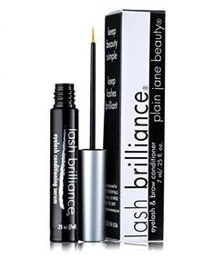 Plain Jane Beauty Lash Brilliance eyelash conditioning serum lash enhancer parabenfree with Myristoyl Pentapeptide17 and apple stem cell -- You can get more details by clicking on the image.
