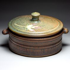 Travis Berning, Tree House Pottery, Casserole  8 x 10.5