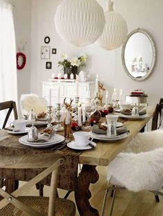 Modern Country Style blog: Dining By Candle Light