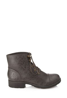 1d824e8bf2d0e6 Forever 21. Leather Hiking BootsHiking ...