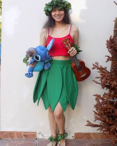 Diy Lilo Stitch Costume Ideas 20 Ideas On Pinterest Stitch Costume Lilo And Stitch Costume Stitch Halloween Costume