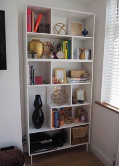DIY IKEA VALJE BOOKCASE SHELVING UNIT HACK