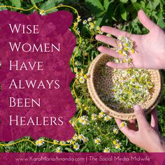 There have been women healers in every culture around the world since the beginning of human civilization. She is the wise woman, midwife, herbalist, curandera, partera, priestess, shaman, medicine woman, witch and traditional healer. She has many names. Reclaim your heritage as a healer today! Remember the ways of women's wellness.