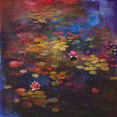 Impressionniste-Inspired Paysages Photographie Fuse avec peinture à Blur fantaisie et la réalité - Mon moderne Met