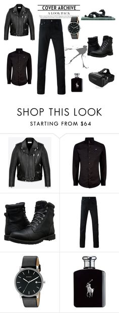 """""""Life Styles"""" by ak-chuck ❤ liked on Polyvore featuring Yves Saint Laurent, Vivienne Westwood, Timberland, Givenchy, Skagen, Ralph Lauren, men's fashion and menswear"""