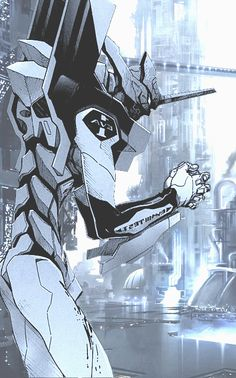 Neon Genesis Evangelion - Unit 01 - Read the first volume of the manga, but I need to watch this.