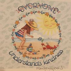 💗💗💗Mary Engelbreight's (M. Kindness Matters, Mary Engelbreit, Travel Design, Whimsical Art, Funny Design, Wells, Doodles, Thoughts, Drawings