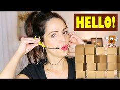Hello! Maquillaje y mi Ingles - Abriendo Cajitas - YouTube