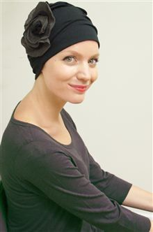 c09b72c3d9676 Coping with hair loss in style! Heading back to work after treatment  Our  stylish Suzie turban couldn t be more