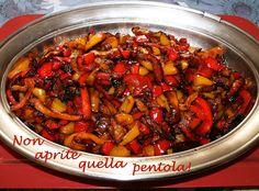 I coloratissimi #peperoni di #nonapritequellapentola Buon appetito! http://blog.giallozafferano.it/nonapritequellapentola/coloratissimi-peperoni/