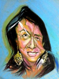 """""""HBD..Vera Wang /Fashion Designer"""" #Creative #Art in #painting @Touchtalent"""