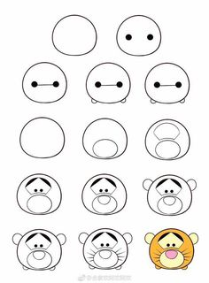 How to Draw a Sloth - Really Easy Drawing Tutorial - easy - Easy Disney Drawings, Cute Easy Drawings, Cute Kawaii Drawings, Cute Drawings Tumblr, Hipster Drawings, Drawing Disney, Dessin Design Simple, Simple Designs To Draw, Simple Doodles