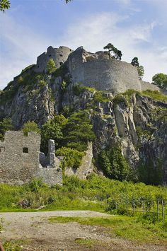 Hohentwiel Castle ruins (the largest fortress ruin in Germany) Baden-Wurttemberg