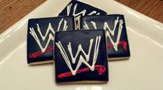WWE cookies | I was asked to make these WWE (world wrestling… | Flickr