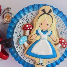Galletas de Alicia en el país de las maravillas - Alice Cookies