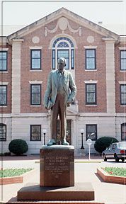 James Shepard statue at NCCU. Image courtesy of NC Office of Archives & History. Article from NCpedia, reprinted from the Encyclopedia of North Carolina.