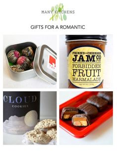 gifts for a romantic   manykitchens.com