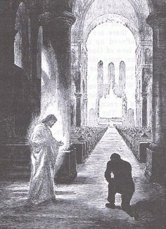 Why genuflect? Kneeling in Mass and Adoration.