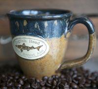 Tan Stoneware Mug