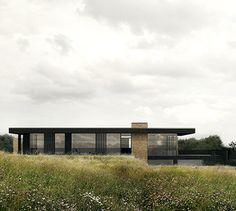 BAKS ARKITEKTER -  Panorama House, Denmark. Nordic architecture, house, design, scandinavian, texture, brick, wood, minimalistic, danish, nature, living, facade