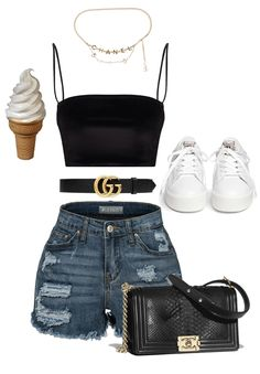 Date created by itslorenavalentina on ShopLook.io perfect for Weekend. Visit us to shop this look. Grunge Outfits, Cute Swag Outfits, Teen Fashion Outfits, Edgy Outfits, Mode Outfits, Simple Outfits, Summer Outfits, Girl Outfits, Teenager Outfits