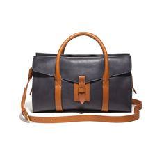 7131c40bf32 Madewell The Pocket Satchel Work Uniforms, City Bag, Dressy Dresses, Tan  Leather,