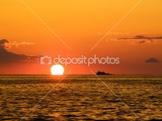Pôr do sol de pesca — Imagem de Stock #2919805