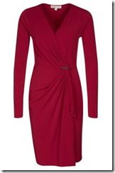 Michael Michael Kors Red Jersey Dress