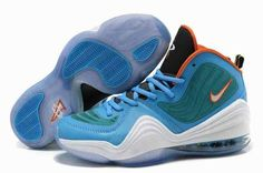 2015 For Sale Air Penny Hardaway 5 V Mens Shoes Discount Blue White Orange…