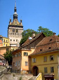 Sighisoara Transylvania the birthplace of Vlad the Impaler Places To See, Places Ive Been, Vlad The Impaler, Travel Around The World, Around The Worlds, Romania Travel, Medieval Town, Travel And Tourism, Winter Travel