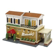 Dept 56 Christmas in the City Village The Macambo