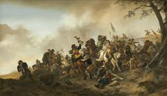 Philips Wouwerman, 'Battle Scene,' c. 1645/1646, National Gallery of Art, Washington D.C.