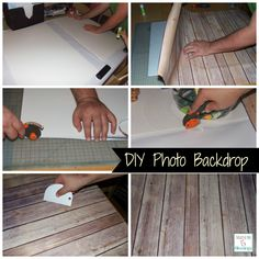 DIY photography backdrop - super easy to make for a fraction of the cost vs. buying one made for you http://mamato5blessings.com/2014/03/diy-photo-backdrops/