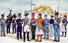 Warfare, Reign, 19th Century, Greek, Army, Painting, Revolution, Prince, Europe