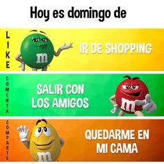 M&M's Mexico - ¿Cuál es tu #PlanDeDomingo ?