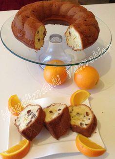 Portakallı ve Üzümlü Kek Tarifi