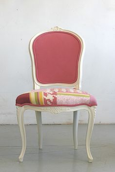 Check out the deal on Pink Vintage French Occasional Chair at Eco First Art
