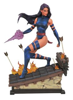 Marvel Premier Collection Psylocke Statue From DST #Marvel