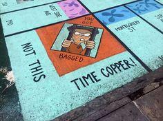 Jersey City street art puts black face on crime - http://streetiam.com/jersey-city-street-art-puts-black-face-on-crime/