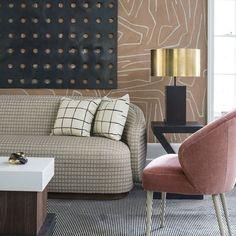 Introducing @kellywearstler's new collection of #fabrics and #wallpaper for @leejofa. #home #decor #interior #design #worldofkelly #dreamedinla by shopkwearstler