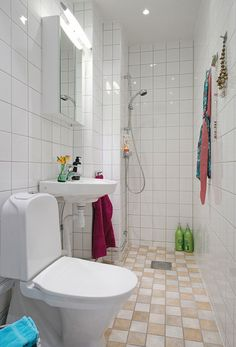 Small Apartment Clever Design Solutions in Gothenburg
